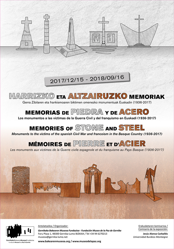 Memories of stone and steel exhibition