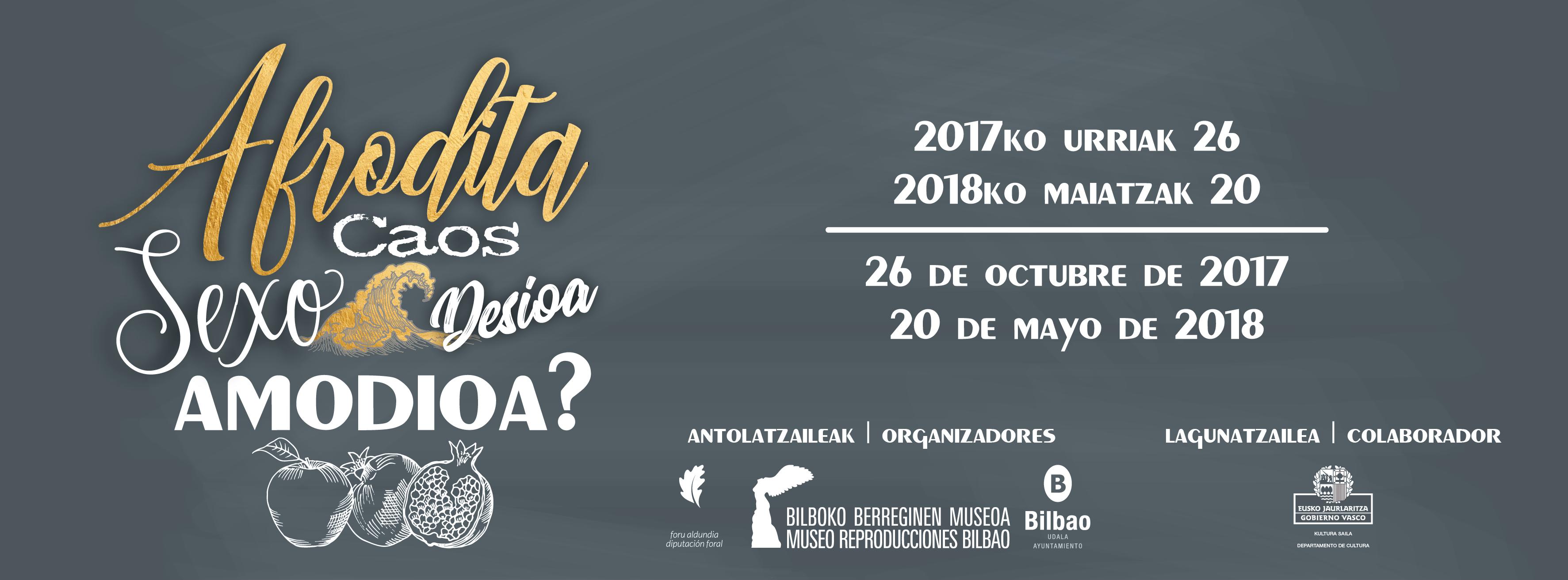 El Museo de Reproducciones inaugura una exposición dedicada a Afrodita que surge gracias a una idea aportada por alumnas de Begoñazpi Ikastola