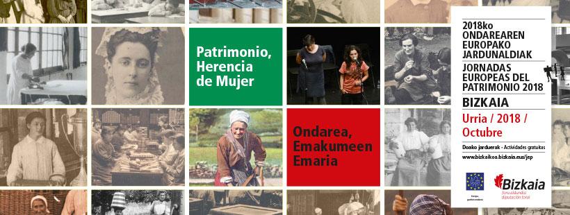 2018ko Ondarearen Europako Jardunaldiak: Berreginen Museoak emakume-arimadun jarduerak antolatuko ditu