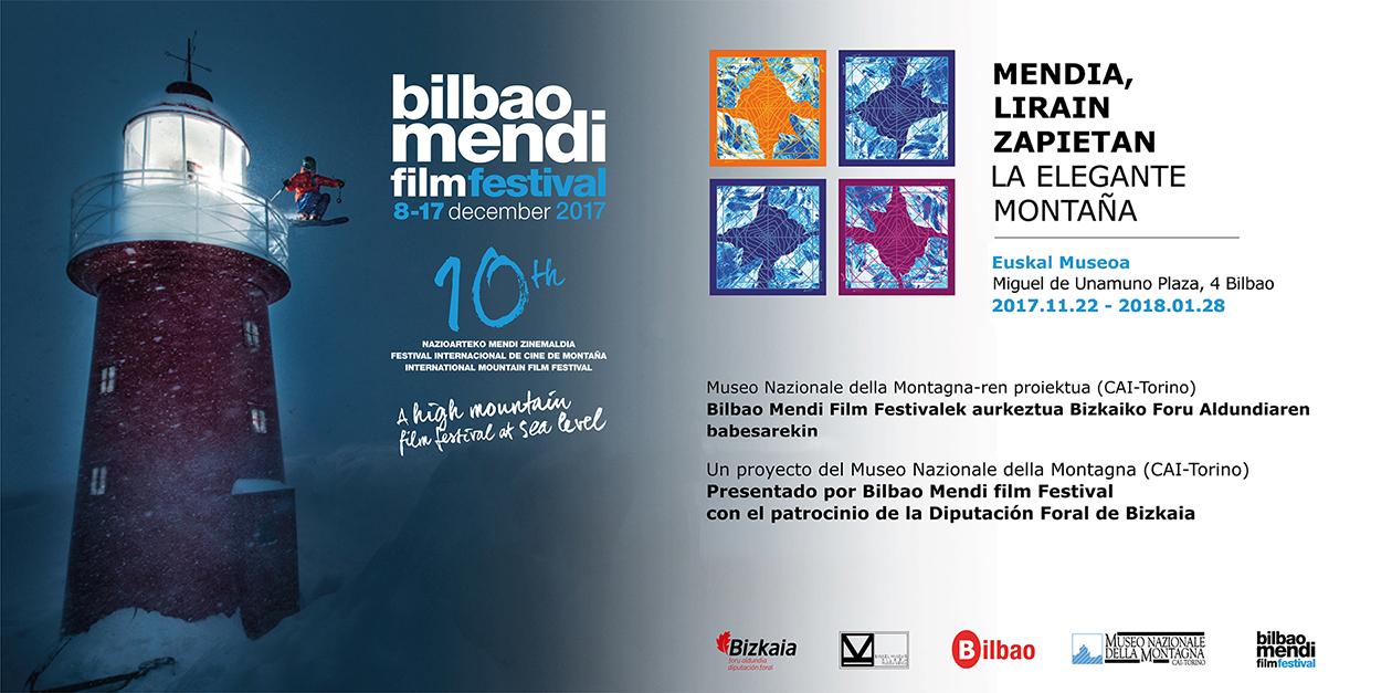 Mendia, lirain Zapietan-Foullard delle Montagne erakusketa azaroaren 20an inauguratu da Euskal Museoa Bilbao Museo Vasco-n, Bilbao Mendi Film Festivalaren 10. edizioko ekitaldi lez, eta Bizkaiko Foru