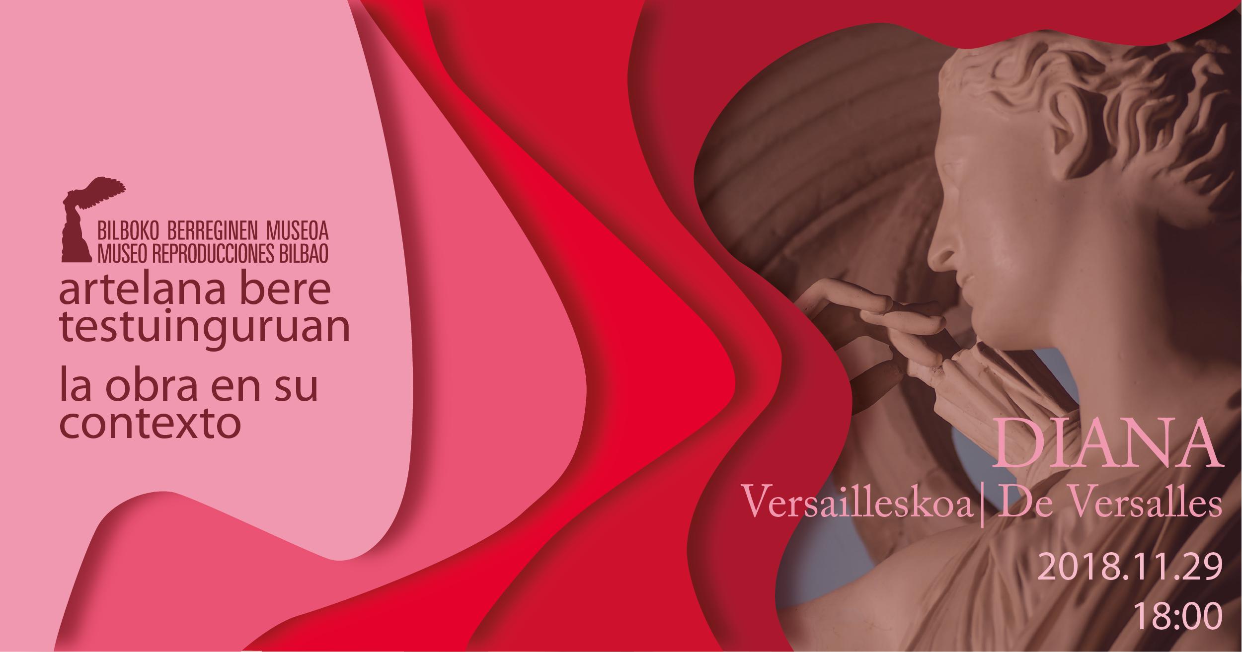 """La Diana de Versalles será la protagonista, en noviembre, de """"La obra en su contexto"""" del Museo de Reproducciones"""