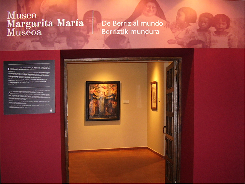Margarita María Museum. From Berriz to the World