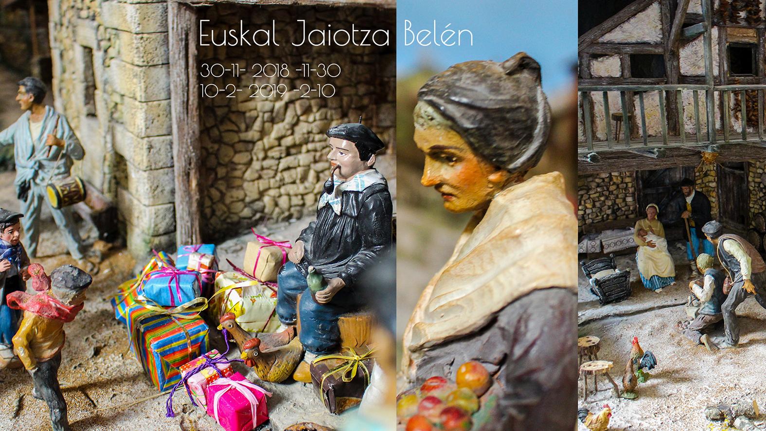 Euskal Jaiotza erraldoia Euskal Museora itzuliko da Gabonetan, protagonisten artean Olentzero duela